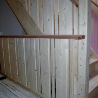 Balustrade Hout Trap 3
