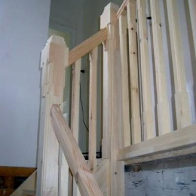 Balustrade Hout Trap 4