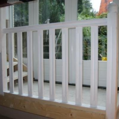Balustrade Hout Trap 92